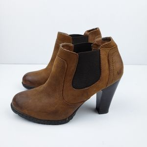 Born Concepts Leather Ankle Booties sz 7